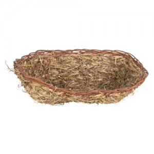 Grass Bed Basket for Rabbits